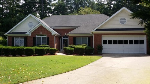Home In Preston Oaks Subdivision Suwanee